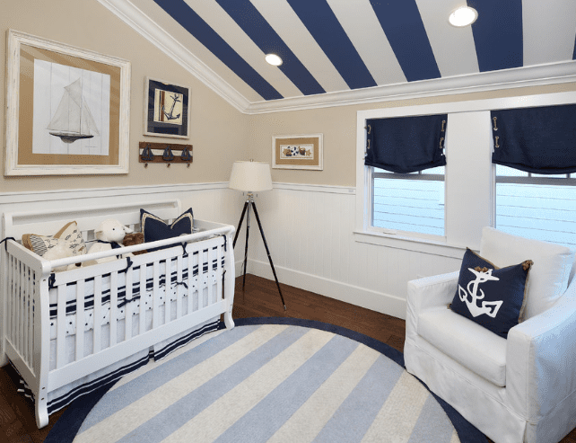 laurel-mews-in-los-gatos-nautical-crib-bedding Nautical Crib Bedding and Beach Crib Bedding