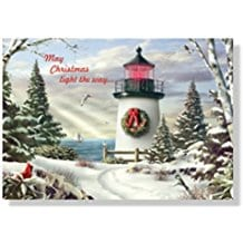 lighthouse-christmas-cards-18 Beach Christmas Cards and Nautical Christmas Cards
