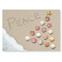 peace-seashells-christmas-card-16 Beach Christmas Cards and Nautical Christmas Cards