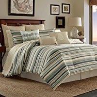 tommy-bahama-canvas-stripe-comforter-set Tommy Bahama Bedding Sets & Tommy Bahama Bedspreads