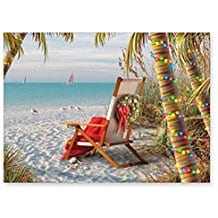 tropical-holiday-breeze-christmas-cards-16 Beach Christmas Cards and Nautical Christmas Cards
