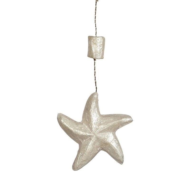 Coastal-Beach-Capiz-Starfish-Ornament-800x800 Starfish Christmas Ornaments