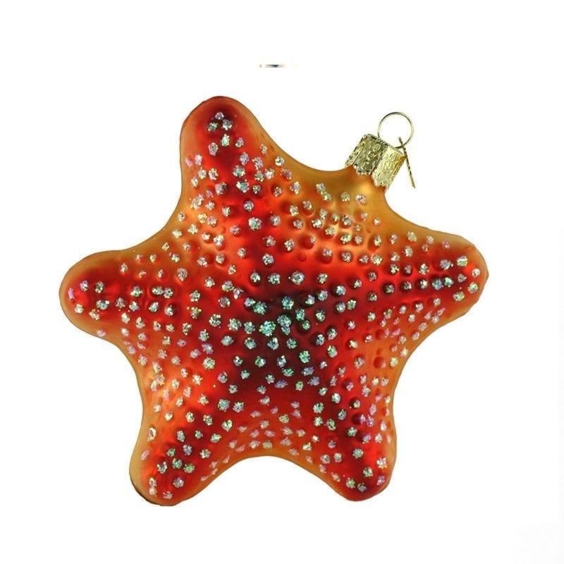 Glass-Blown-Old-World-Christmas-Starfish-Ornamnt-800x800 Starfish Christmas Ornaments