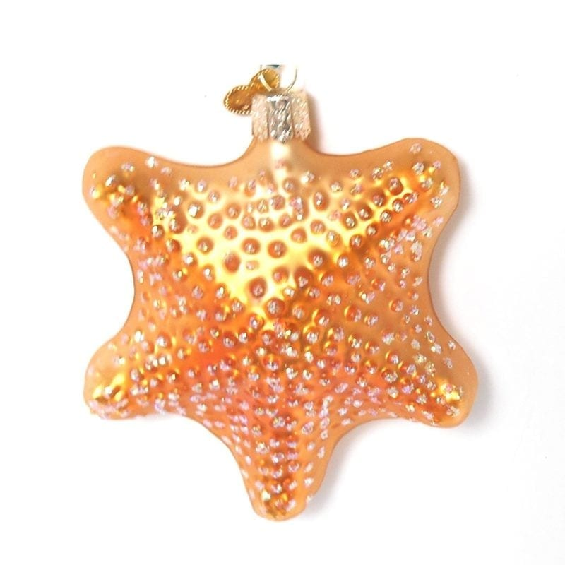 Glittery-Bronze-Starfish-Ornament-800x800 Starfish Christmas Ornaments