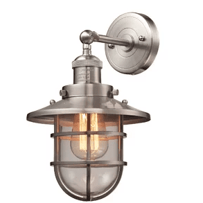 Humphries-1-Light-60W-Wall-Sconce-by-Beachcrest-Home Nautical Bathroom Lighting and Beach Bathroom Lighting