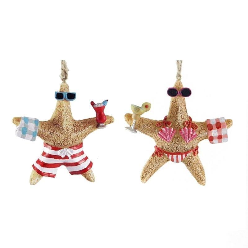 Mr-and-Mrs-Starfish-Hanging-Christmas-Ornament-800x800 Starfish Christmas Ornaments