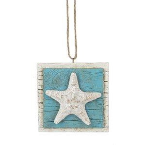 StarfishShapedornament Starfish Christmas Ornaments