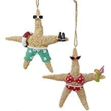 starfish-beach-couple-christmas-ornament Starfish Christmas Ornaments