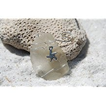 starfish-on-sea-glass-ornament Starfish Christmas Ornaments