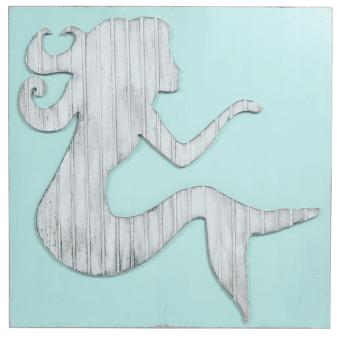 Coastal-Wildlife-Mermaid-Wall-Decor Mermaid Home Decor