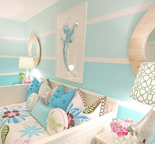 Mermaid-Bedroom-by-Nagwa-Seif-Interior-Design Mermaid Home Decor