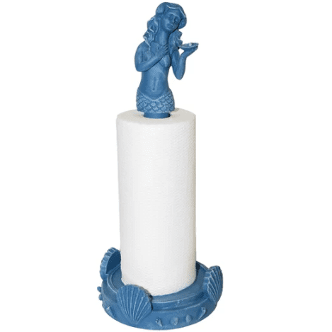 Mermaid-Paper-Towel-Holder Mermaid Home Decor