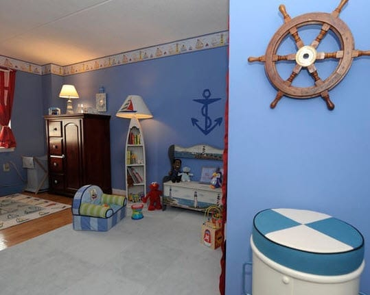 Nelsons-Nursery-by-Peggy-Bark-Area-Aesthetics-Interior-Design 100+ Nautical Anchor Decorations and Decor