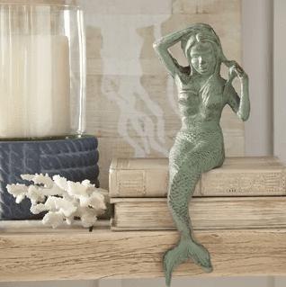 birch-lane-antiqued-mermaid-decor Mermaid Home Decor