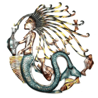 colorful-unique-mermaid-wall-decor-rosecliff-heights Mermaid Home Decor