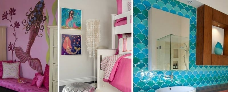 Beautiful Mermaid Decor