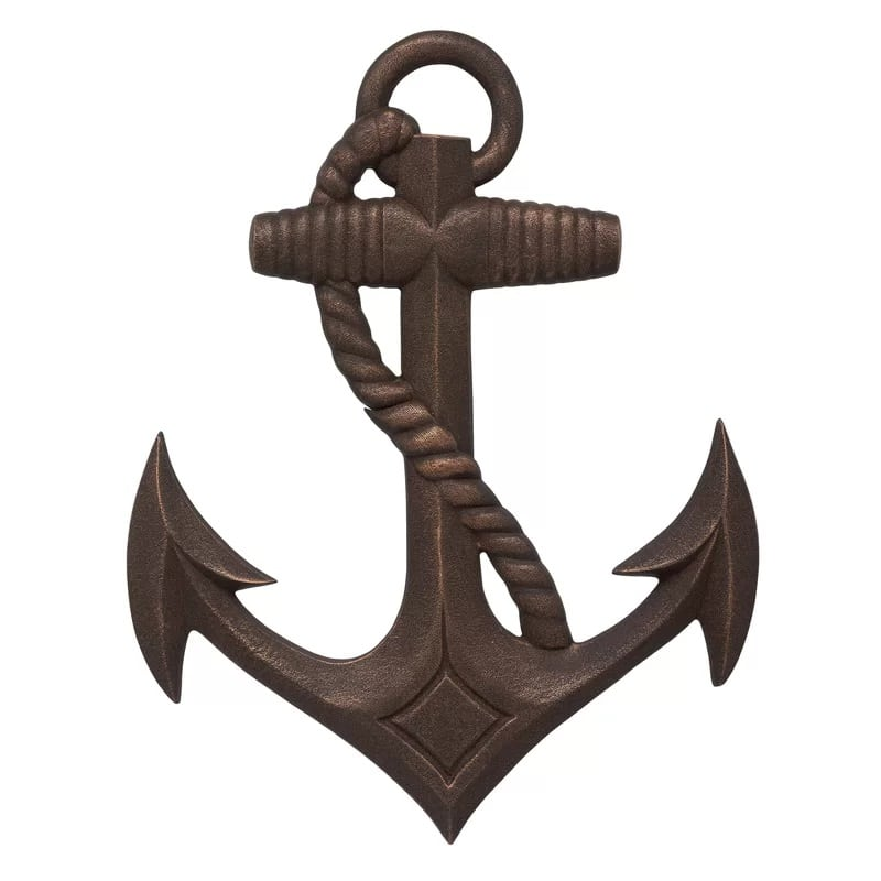 nautical-anchor-wall-decor-whitehall-products Nautical Anchor Decor
