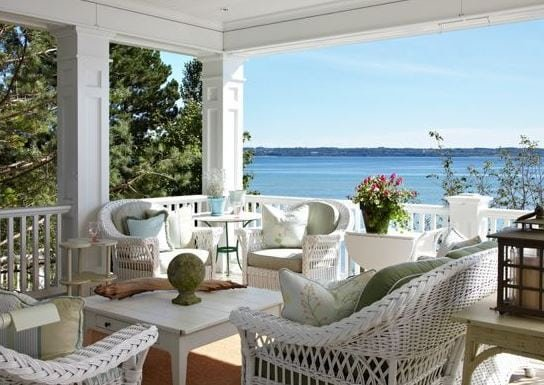 Michigan-Summer-Home-by-Tom-Stringer-Design-Partners Best White Wicker Furniture