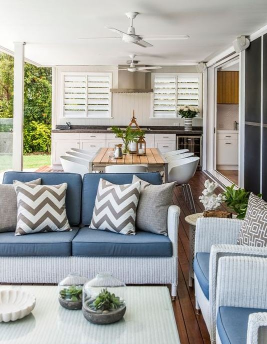 Woolloowin-Residence-by-Highgate-House Best White Wicker Furniture
