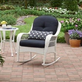 azalea-ridge-all-weather-white-wicker-rocker Best White Wicker Furniture