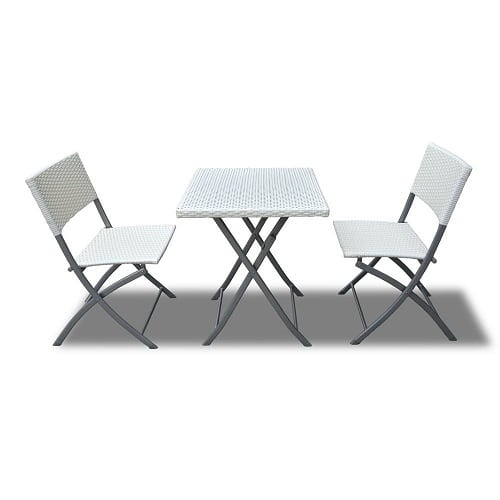 bimini-outdoor-patio-folable-white-wicker-bistro-set Best White Wicker Furniture