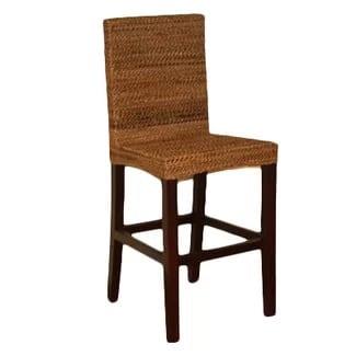 elenmar-designs-maui-24-bar-stool Wicker Bar Stools