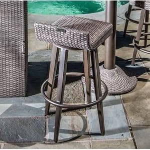 kaylor-all-weather-wicker-swivel-patio-bar-stool Wicker Bar Stools
