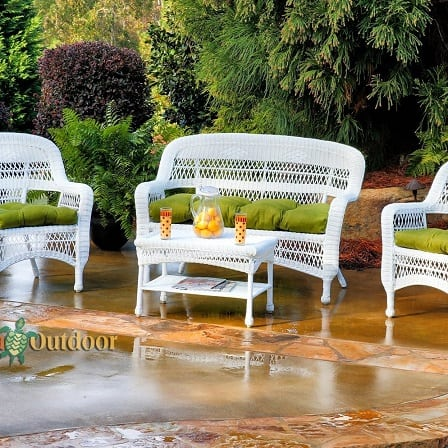 tortuga-outdoor-white-wicker-patio-furniture-set Best White Wicker Furniture