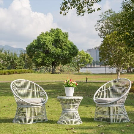 wicker-white-seating-furniture-set Best White Wicker Furniture