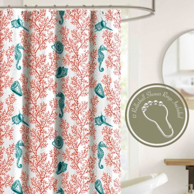 coral-shower-curtain-2-800x800 Coral Decor