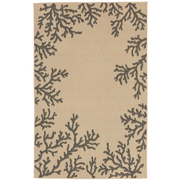 liorna-manne-veranda-coral-neutral-area-rug Coral Decor