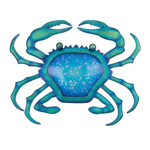 crab-watercolor-figurine Crab Decor & Crab Decorations