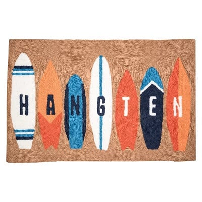 hangten-surfboard-doormat Surf Decor & Surfboard Decorations