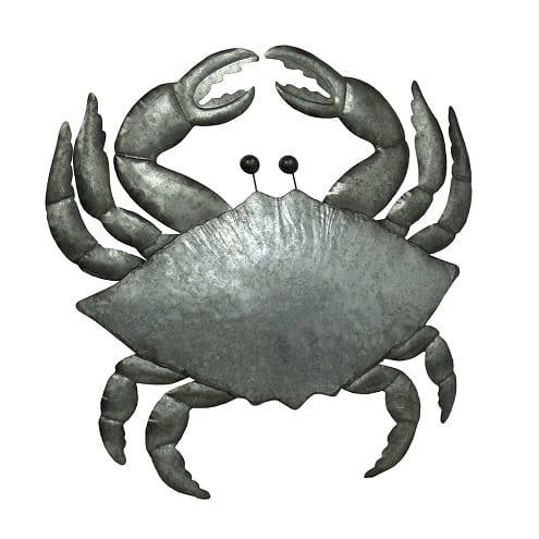 metal-crab-wall-sculpture Crab Decor & Crab Decorations