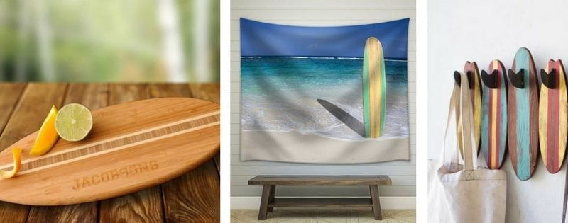 Surf Decor & Surfboard Decorations