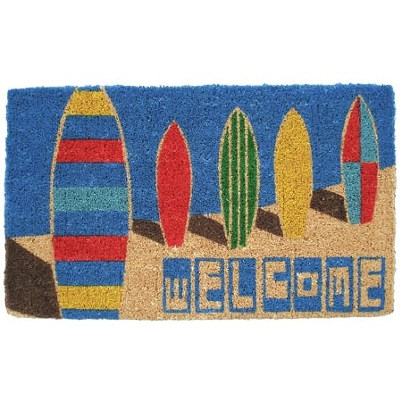wilhelmina-surf-boards-doormat Surf Decor & Surfboard Decorations