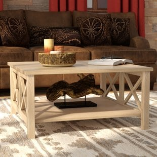bryer-coffee-table Beach Coffee Tables and Coastal Coffee Tables