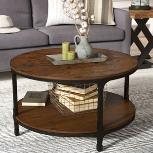 carolyn-coffee-table Beach Coffee Tables and Coastal Coffee Tables