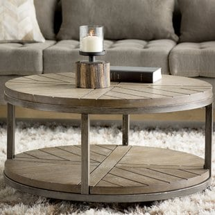drossett-coffee-table Beach Coffee Tables and Coastal Coffee Tables