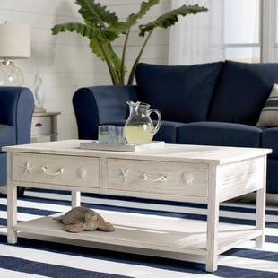 dudek-coffee-table Beach Coffee Tables and Coastal Coffee Tables