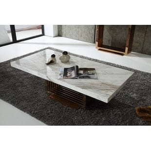 jayleen-marble-coffee-table Beach Coffee Tables and Coastal Coffee Tables