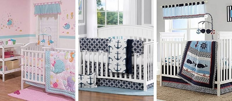 Nautical Crib Bedding and Beach Crib Bedding
