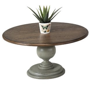 serpentaire-round-pedestal-coffee-table Beach Coffee Tables and Coastal Coffee Tables