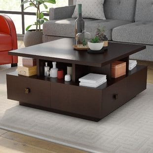 square-coffee-table Beach Coffee Tables and Coastal Coffee Tables