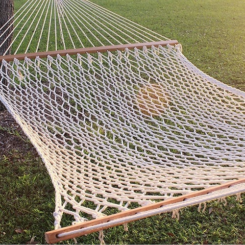 Apontus-Double-Wide-Rope-Hammock-for-2 100+ Best Rope Hammocks