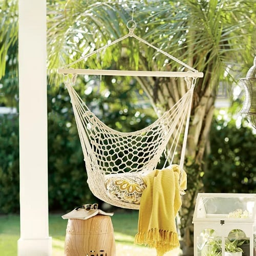 Beachcrest-Home-Parker-Woven-Cotton-Rope-Chair-Hammock Best Rope Hammocks