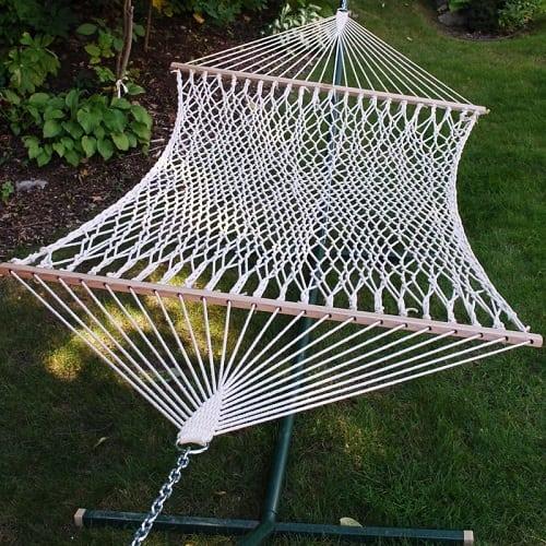 Beachcrest-Home-lawson-double-tree-hammock Best Rope Hammocks