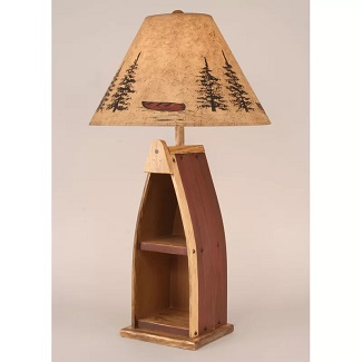 Cannonleague-Wooden-Boat-33-Table-Lamp Boat Lamps and Sailboat Lamps