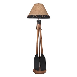 Ellard-2-Boat-Paddles-62-Floor-Lamp Boat Lamps and Sailboat Lamps