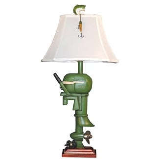 Gering-Boat-Motor-32-Table-Lamp Boat Lamps and Sailboat Lamps